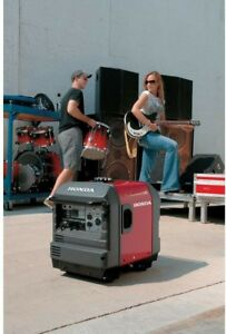 Honda Eu3000is1a 3000w Gas Powered Portable Generator Inverter W Electric Start