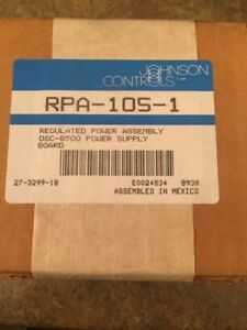 Johnson Controls Rpa 105 1 Regulated Power Assembly Dsc 8500 Power Supply Board