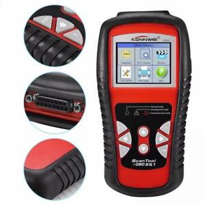 Diagnostics Auto Scanner Automotive Fault Code Reader Diagnostic Tool Red
