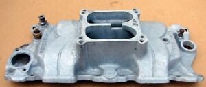 Offenhauser 5693 360 Chevy Sb 327 350 High Rise Aluminum Race Intake Manifold