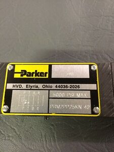New Parker Prm2pp25kn Hydraulic Pressure Reducing Valve 5000 Psi