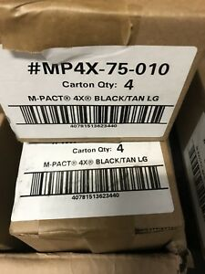 Lot Of 5 Pairs mechanix Wear Mp4x 75 010 Large Black Brown Material 4x