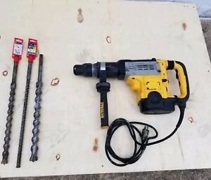Dewalt D25762k Combination 2 Inch Rotary Hammer With Three Bits