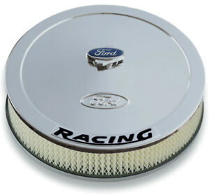 Proform 13 In Round Chrome Steel Air Cleaner Assembly P N 302 351
