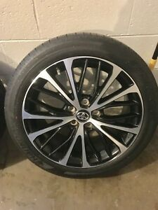 2018 Toyota Camry Se Wheels And Tires Free Shipping Within Continental Usa