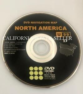 2009 10 11 12 13 2014 Toyota Latest Updated Navigation Dvd U99 Data 17 1 Oem