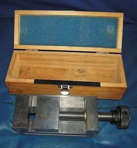 Accupro Gold Tool Makers Precision Machinist Vise 2 75 Jaws W 2 75 Capacity