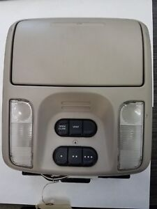 2005 Pacifica Oem Overhead Console Storage Lights Vent Homelink