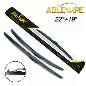 Ablewipe Fit For Chevrolet Chevy Colorado 2004 2012 Windshield Wiper Blades J U
