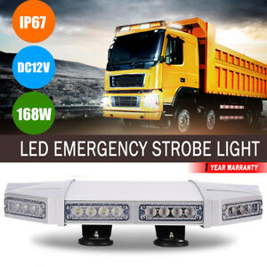 56led Amber White Emergency Warning Lights For Dodge Silverado Snow Plow Truck