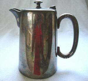 Antique Montfort Silver Plated Epns Table Serving Hot Water Jug Coffee Pot