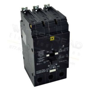 New In Box Edb34060 Square D Schneider Electric Circuit Breaker 18ka 480v