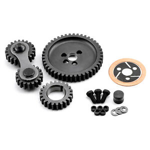 Chevy Sbc 350 Dual Idler Noisey Timing Gear Drive Set
