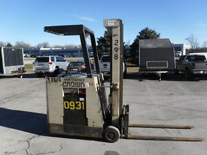 Crown Forklift Lift Trucks 35rctt Narrow Ailse Electric Counter Balance 36 Volt