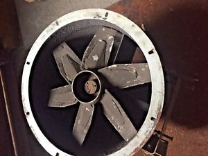 Dayton Model 4c660a 16 Dia Tube Axial Exhaust Fan Less Motor