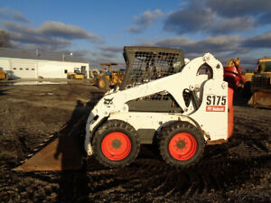 2007 Bobcat S175 Skid Steer Orops Sticks pedals New Tires 2 110 Hours