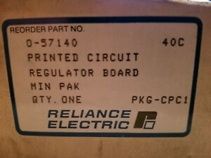 Reliance Electric 0 57140 Printed Circuit Regulator Board new surplus