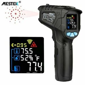 Infrared Thermometer Temperature Gun Mestek Non contact Laser Digital Thermomete