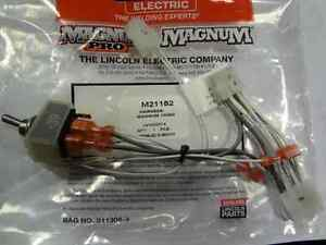 Lincoln M21182 Spoolgun 100 Sg Switch Harness Instructions