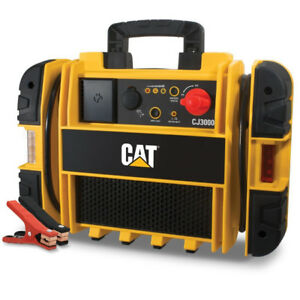 Cat 1000 Amp Portable Jump Starter Battery Power Car Jumper Box 2000 Peak New
