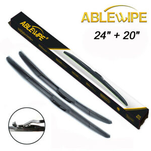 Ablewipe 24 20 Fit For Toyota Camry 2007 2011 Hybrid Windshield Wiper Blades