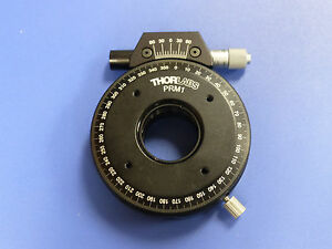 Thorlabs Prm1 Precision Rotation Stage 1 Optics Mount With Micrometer