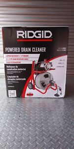 Ridgid K 400 Powered 1 1 2 To 4 Drain Cleaning Drum Machine 52363 New In Box