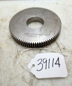 Gear Shaper Cutter inv 39114