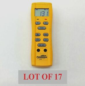 Lot 17 Fieldpiece St4 Dual Input Temperature Standalone Meter 58 To 2000f Hvacr