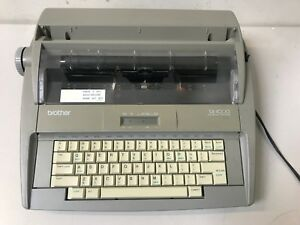 Brother Sx 4000 Electric Typewriter With Keyboard Cover