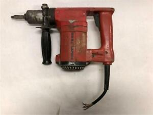 Hilti Te22 Rotary Hammer Drill Only Tested Works But Needs Cord