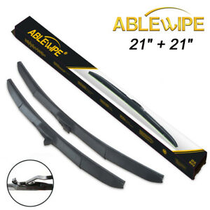 Ablewipe Hybrid 21 21 Fit For Jeep Patriot 2007 2017 Windshield Wiper Blades