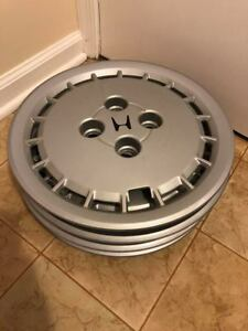 set Of 4 1985 Honda Accord 13 Inch Bolt On Hubcaps Wheel Covers