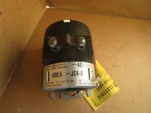 Ge General Electric Current Transformer 750x34g2 Type Jcr 0 Ratio 400 5
