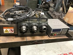 Haas Ha5c3 Cnc 4th Axis Rotary Table Indexer 5c Collet Brushless 3 Gang