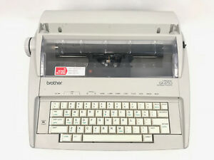 Brother Portable Electric Typewriter Correctronic Gx 6750 Daisy Wheel Working