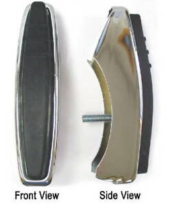 Bumper Guards Fits Front Or Rear Accessory Rubber Face 1947 1954 Chevy Truck