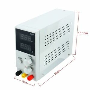 10a 30v Lcd Dc Power Supply Adjustable Precision Variable Digital Lab 110v Ac