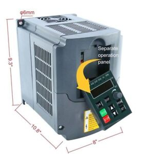 220v Single To 3 Phase Vfd Vsd Variable Frequency Drive Inverter Converter