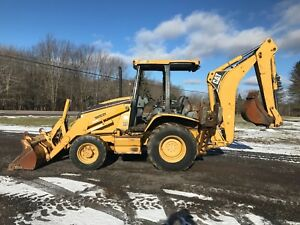2004 Cat 416d Caterpillar Loader Backhoe 4x4