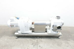 Sine Stainless Positive Displacement Pump 4in 4kw 240 460v ac