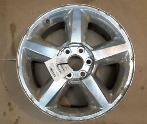 Wheel 20x8 1 2 5 Spoke Covered Lug Nuts Fits 07 09 Avalanche 1500 151464