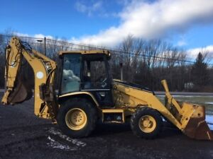 2001 Cat 420d Caterpillar Loader Backhoe 4x4