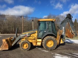2008 John Deere 310sj Loader Backhoe 4x4