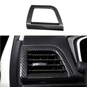 For Ford Fusion Mondeo 2013 18 Carbon Fiber Abs Inner Side Air Vent Outlet Cover