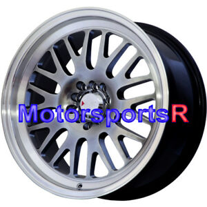 Xxr 531 Wheels 18 X 8 5 35 Chromium Black Machine Lip Rims 5x100 5x114 3 5x4 5