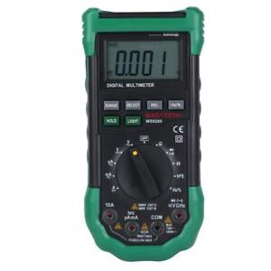 Mastech Ms8268 Auto Range Lcd Digital Multimeter Ac Dc Electrical Tester