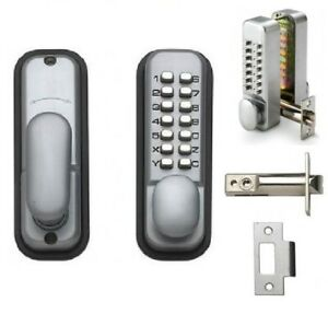 Rhino Push Button Mechanical Digital Combination Code Door Lock Keyless Access
