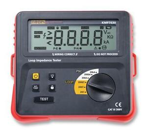 Earth Loop Impedance Tester Test Continuity Earth Loop Impedance T