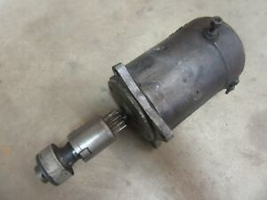 1964 Ford Thunderbird 390 Engine Motor Starter Core Parts Hot Rod Hot Rod